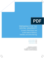 Preparing Digital University