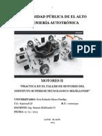 Informe Taller de Motores II