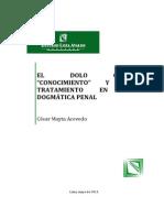 El dolo como conocimiento - Cesar.pdf