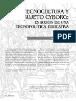Tecnocultura y Sujeto Cyborg Nomadas_21_5_tecnocultura
