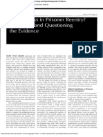 What Works in Prisoner Reentry