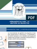 Herramientas Para La Gestion de Proyectos