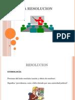 RESOLUCION PPT
