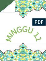 SAPERATOR MINGGU