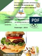 Nutrición en El Sobrepeso y Obesidad