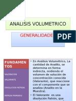Analisis Volumetrico 2012 II