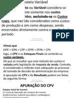 Custeio Por Absorção, Variavel e ABC- Blocos 10 a 14