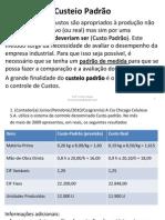Blocos 18 a 20 - Exercícios de Contabilidade de Custos
