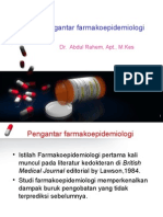 1. Introduction Farmakoepidemiology