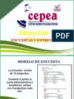 Investigacion de Mercado CEPEA - Atención Al Cliente