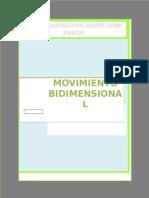 Movimiento Bidimensional