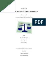MAKALAH Aspek Ekonomi&Hukum