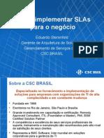 SLA e SLM como Implantar