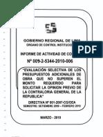 Directiva de Contraloria Referente a Adiionles de Obra. Anexo
