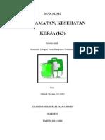 MAKALAH K3 Hikmah Widianti