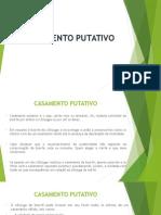 CASAMENTO PUTATIVO