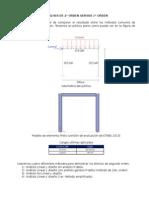 ETABS 2013 - Análisis de 2° orden vs 1° orden