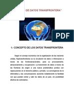 EL FLUJO DE DATOS TRANSFROTERA