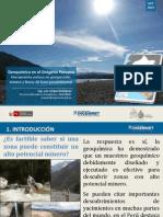 Geoquímica en El Orógeno Peruano