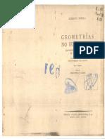 1906 - Bonola - Geometrías No Euclidianas - Exposición Histórico-Crítica de Su Desarrollo