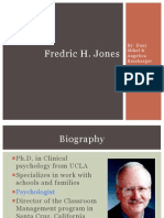 fredric jones presentation