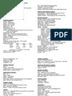 N358ME Checklist