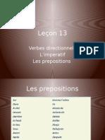 Leçon 13