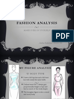 My Figure Analysis For Fash 105 Waist Clothing