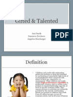gifted and talented ppt