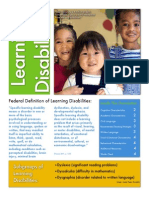 learning disabilities resource file