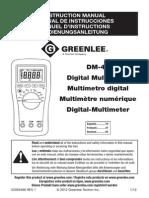 Greenlee DM 45