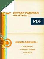 Metode pameran