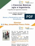 Presentacion Director de Gestion de Produccion . 2014 -1