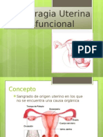 Hemorragia Uterina Disfuncional