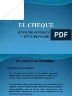 Cheques Expo