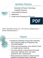 Ch08 Synthetic Polymers