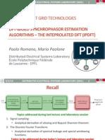 Course SGT 3 - DFT-based Synchrophasor Estimation Algorithms - IpDFT Rev2