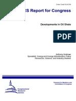 Developments in Oil Shale