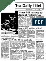 Daily Illini 1971
