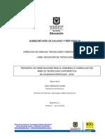 Propuesta Orientaciones Para El Diseno Curricular EdenTec