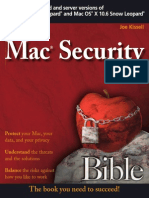Joe Kissell - Mac Security Bible [2010]
