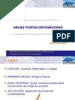 Trabajo Gruas Portacontenedores NP 832091 y NP 831691