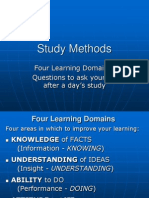 SM 1. Four Learning Domains
