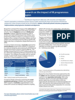 impact of ib programmes in the asia pacific region