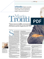 Gnoli - Int. a Mario Tronti
