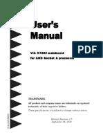 mu-8vtaI AMD Sempron User's Manual