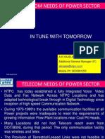 Telecom Needs of Power Sector