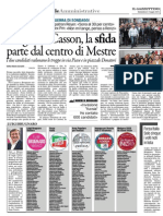 Elezioni Comunali a Venezia