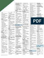 Cuadro de Cuentas PGC