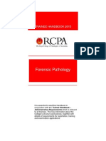 Forensic Pathology Trainee Handbook 2015
